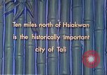 Image of Chinese people Tali China, 1941, second 4 stock footage video 65675060840