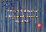 Image of Chinese people Tali China, 1941, second 5 stock footage video 65675060840