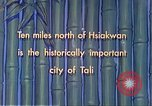 Image of Chinese people Tali China, 1941, second 6 stock footage video 65675060840
