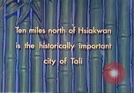 Image of Chinese people Tali China, 1941, second 7 stock footage video 65675060840
