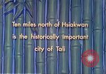 Image of Chinese people Tali China, 1941, second 10 stock footage video 65675060840