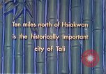 Image of Chinese people Tali China, 1941, second 11 stock footage video 65675060840