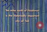 Image of Chinese people Tali China, 1941, second 12 stock footage video 65675060840