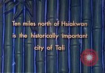 Image of Chinese people Tali China, 1941, second 13 stock footage video 65675060840