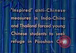 Image of Chinese students Paoshan China, 1941, second 16 stock footage video 65675060842