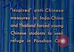 Image of Chinese students Paoshan China, 1941, second 17 stock footage video 65675060842