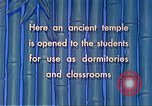Image of Chinese students Paoshan China, 1941, second 56 stock footage video 65675060842
