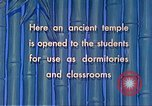 Image of Chinese students Paoshan China, 1941, second 57 stock footage video 65675060842