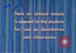 Image of Chinese students Paoshan China, 1941, second 58 stock footage video 65675060842