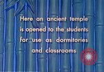 Image of Chinese students Paoshan China, 1941, second 59 stock footage video 65675060842