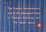 Image of Katchin mountaineers Paoshan China, 1941, second 35 stock footage video 65675060843