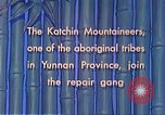 Image of Katchin mountaineers Paoshan China, 1941, second 42 stock footage video 65675060843