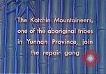Image of Katchin mountaineers Paoshan China, 1941, second 44 stock footage video 65675060843