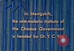 Image of Doctor Yao and Rockefeller Institute malaria control in China during W Mengshih China, 1941, second 46 stock footage video 65675060847