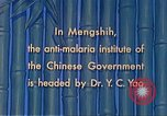Image of Doctor Yao and Rockefeller Institute malaria control in China during W Mengshih China, 1941, second 47 stock footage video 65675060847