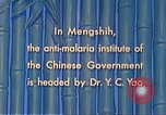 Image of Doctor Yao and Rockefeller Institute malaria control in China during W Mengshih China, 1941, second 61 stock footage video 65675060847