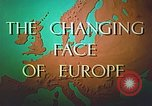 Image of Tourism in Europe after World War 2 Europe, 1950, second 15 stock footage video 65675060859