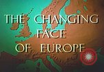 Image of Tourism in Europe after World War 2 Europe, 1950, second 16 stock footage video 65675060859