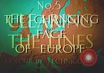Image of Tourism in Europe after World War 2 Europe, 1950, second 18 stock footage video 65675060859