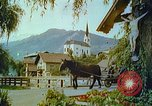 Image of Farmers using animals for transportation Europe, 1950, second 38 stock footage video 65675060860