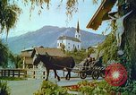 Image of Farmers using animals for transportation Europe, 1950, second 39 stock footage video 65675060860