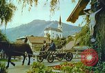 Image of Farmers using animals for transportation Europe, 1950, second 41 stock footage video 65675060860