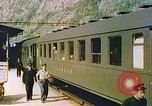 Image of Motor vehicles at border crossings Europe, 1950, second 22 stock footage video 65675060863