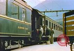 Image of Motor vehicles at border crossings Europe, 1950, second 24 stock footage video 65675060863
