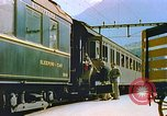 Image of Motor vehicles at border crossings Europe, 1950, second 25 stock footage video 65675060863