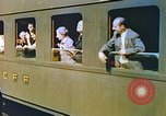 Image of Motor vehicles at border crossings Europe, 1950, second 33 stock footage video 65675060863