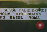 Image of Motor vehicles at border crossings Europe, 1950, second 48 stock footage video 65675060863
