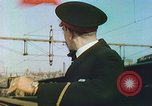 Image of Motor vehicles at border crossings Europe, 1950, second 60 stock footage video 65675060863