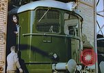 Image of New locomotive in Swiss factory Europe, 1952, second 4 stock footage video 65675060865