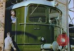 Image of New locomotive in Swiss factory Europe, 1952, second 5 stock footage video 65675060865