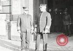 Image of Admiral William S  Benson France, 1918, second 23 stock footage video 65675060898