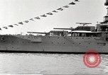Image of several U.S. battleships and destroyers Atlantic Ocean, 1920, second 21 stock footage video 65675060913
