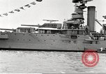 Image of several U.S. battleships and destroyers Atlantic Ocean, 1920, second 22 stock footage video 65675060913