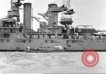 Image of several U.S. battleships and destroyers Atlantic Ocean, 1920, second 24 stock footage video 65675060913