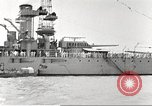 Image of several U.S. battleships and destroyers Atlantic Ocean, 1920, second 25 stock footage video 65675060913