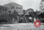 Image of British troops Palestine, 1917, second 39 stock footage video 65675060924