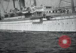 Image of Japanese warship Japan, 1917, second 18 stock footage video 65675060925