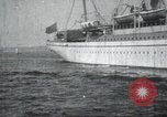 Image of Japanese warship Japan, 1917, second 25 stock footage video 65675060925