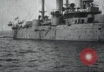 Image of Japanese warship Japan, 1917, second 42 stock footage video 65675060925