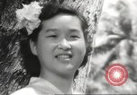 Image of everyday lifestyle and diverse population in Hawaii before World War 2 Honolulu Hawaii USA, 1941, second 13 stock footage video 65675060935