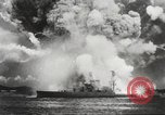 Image of Japanese bombers attack Pearl Harbor Honolulu Hawaii USA, 1941, second 18 stock footage video 65675060940
