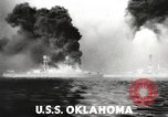 Image of Japanese bombers attack Pearl Harbor Honolulu Hawaii USA, 1941, second 40 stock footage video 65675060940