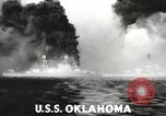 Image of Japanese bombers attack Pearl Harbor Honolulu Hawaii USA, 1941, second 41 stock footage video 65675060940