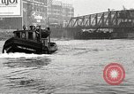 Image of Chicago Harbor Patrol boat Chicago Illinois USA, 1920, second 8 stock footage video 65675060948