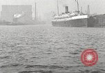 Image of Chicago Harbor Patrol boat Chicago Illinois USA, 1920, second 30 stock footage video 65675060948
