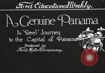 Image of streets of city Panama, 1919, second 2 stock footage video 65675060955